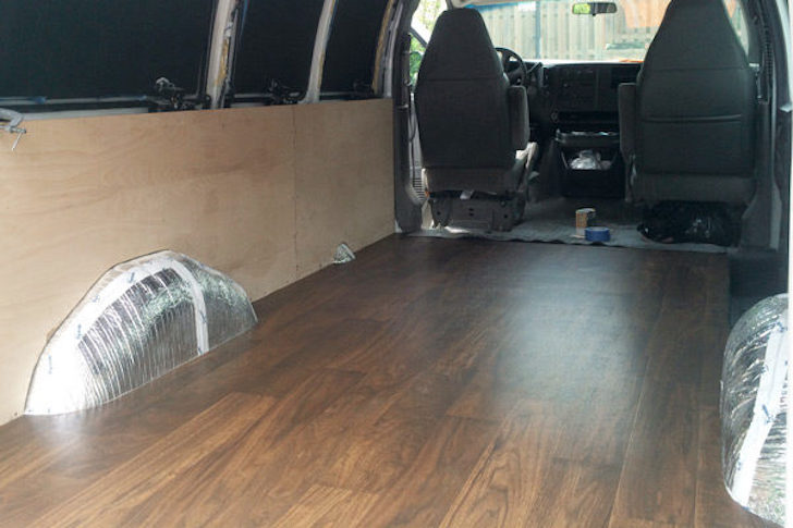 WellDriven 2003 Chevy Cargo Van Converted To Elegant Living