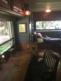 Fine Artist's Rustic Renovation Of 20 Foot Winnebago Motorhome