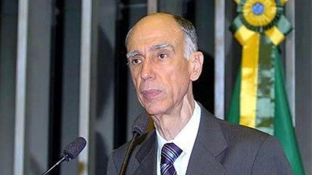 Marco Maciel, vice-presidente da República durante os oito anos de mandato de Fernando Henrique Cardoso.