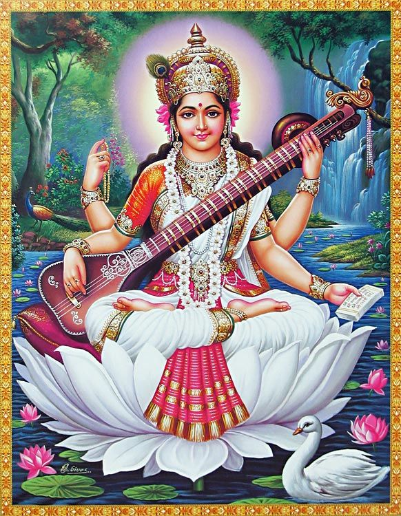 Maa Tara Wallpaper Hd Saraswati Goddess Of Music