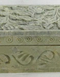 Carved marble jewelry box currently out of stock also rh dollsofindia