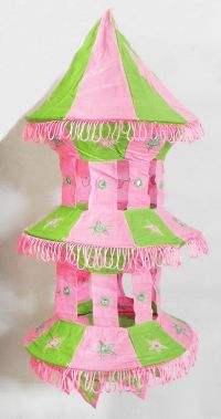 Foldable Hanging Cloth Lamp Shade