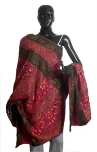 Shop Online Embroidered Woolen Shawl