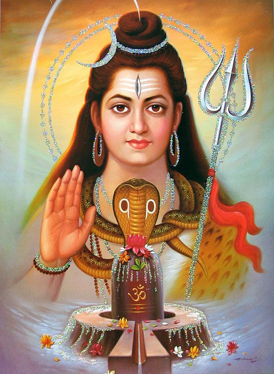 God Ganesh Hd Wallpaper Lord Shiva Poster With Glitter