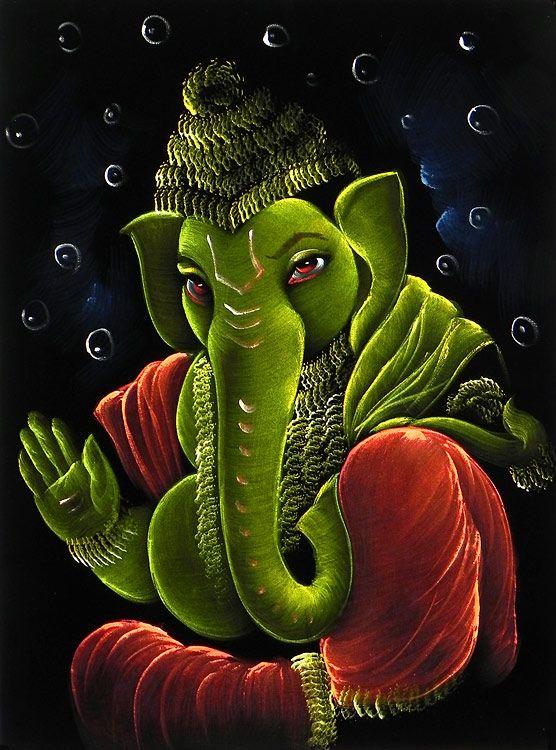 Images Of Cute Dolls Wallpaper Green Ganesha