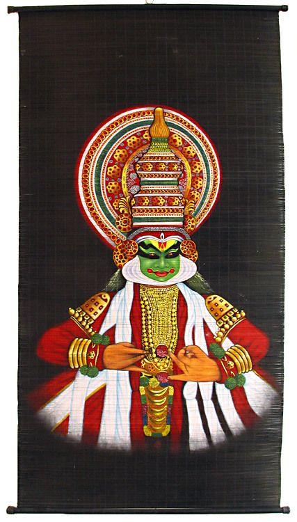 Kathakali Dancer  Wall Hanging