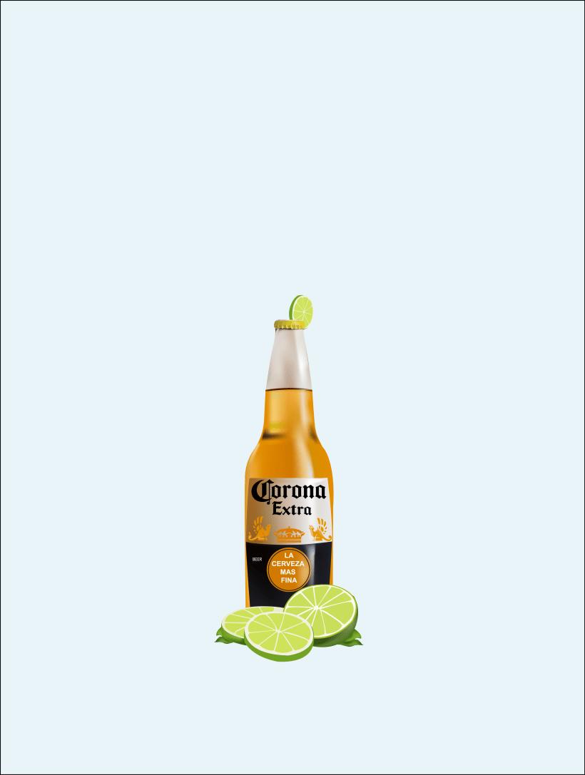 cerveza corona domestika