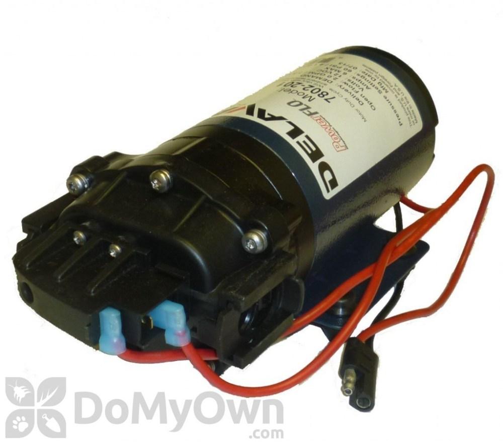 medium resolution of delavan 7802201 electric pump quick connect