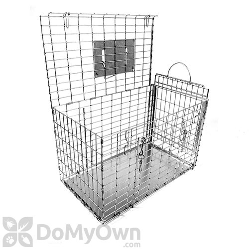 306DD Double Door Cage for raccoon, feral cat & similar