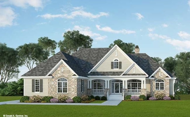 Home Plan The Flagler By Donald A Gardner Architects