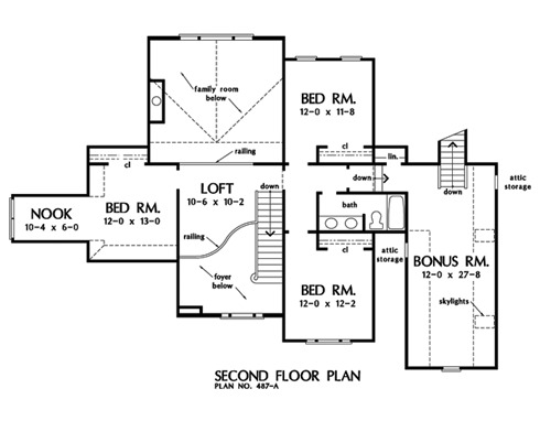Home Plan The Trudeaux by Donald A. Gardner Architects