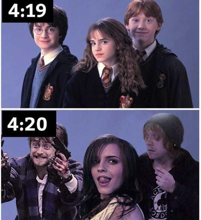 dopl3r.com - Memes - 419 420 Harry Potter, Hermione