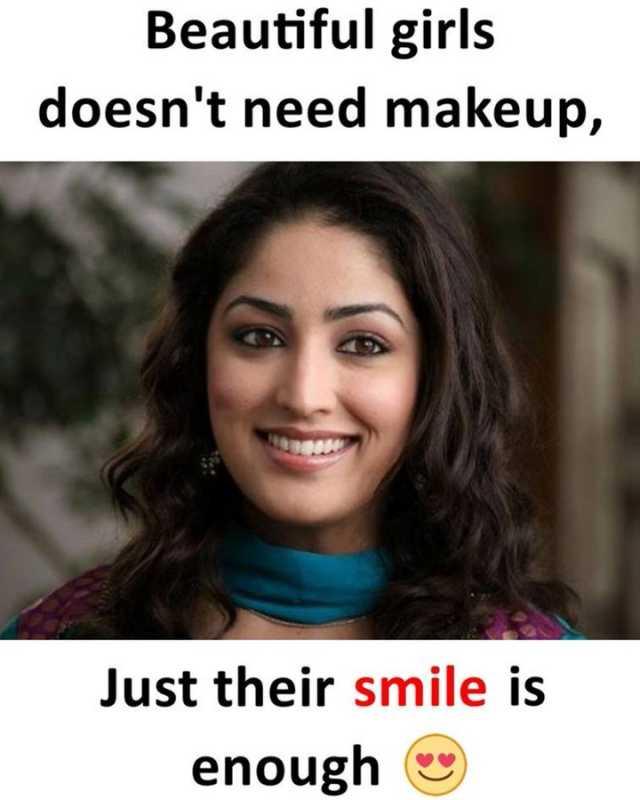 Makeup Girl Meme : makeup, Dopl3r.com, Memes, Beautiful, Girls, Doesnt, Makeup, Their, Smile, Enough