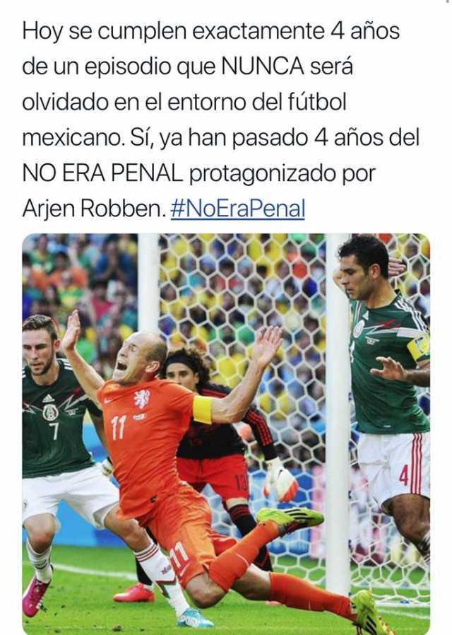 No Era Penal Meme : penal, Dopl3r.com, Memes, Cumplen, Exactamente, Años, Episodio, NUNCA, Será, Olvidado, Entorno, Fútbol, Mexicano., Pasado