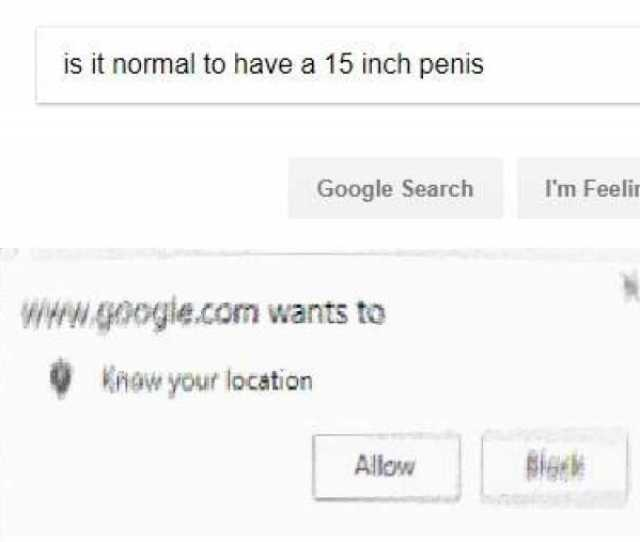 Is It Normal To Have A  Inch Penis Google Search Im Feeling Wgoogle Com