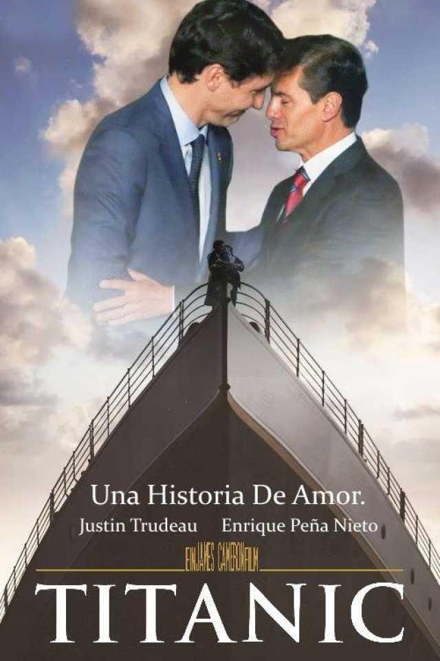 dopl3rcom  Memes  Una Historia De Amor Justin Trudeau