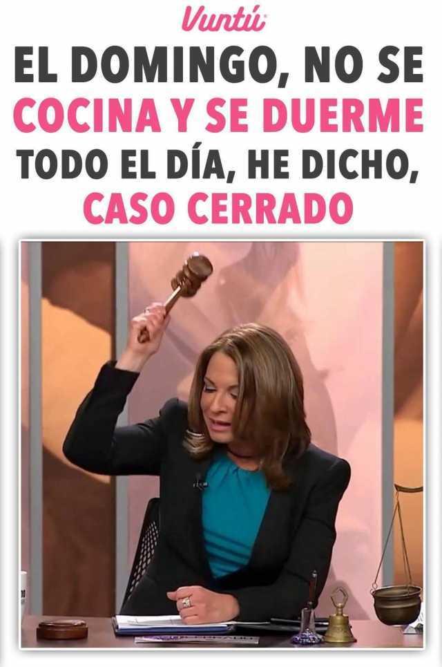 dopl3rcom  Memes  untu EL DOMINGO NO SE COCINA Y SE