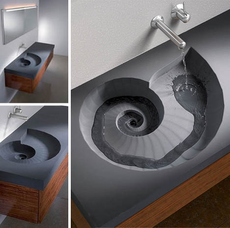 coriolis-spiral-shell-shaped-sink-design