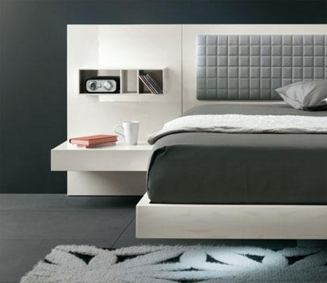 futuristic modern bed design