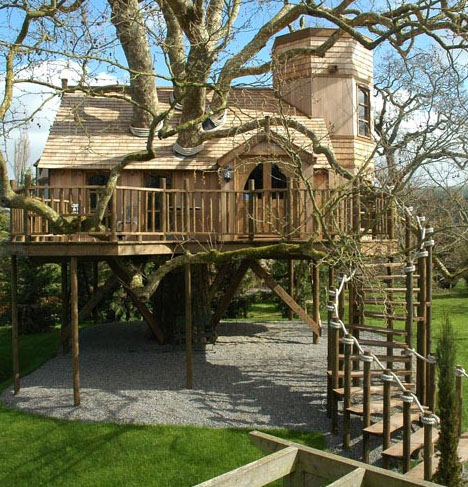 tree house mansion