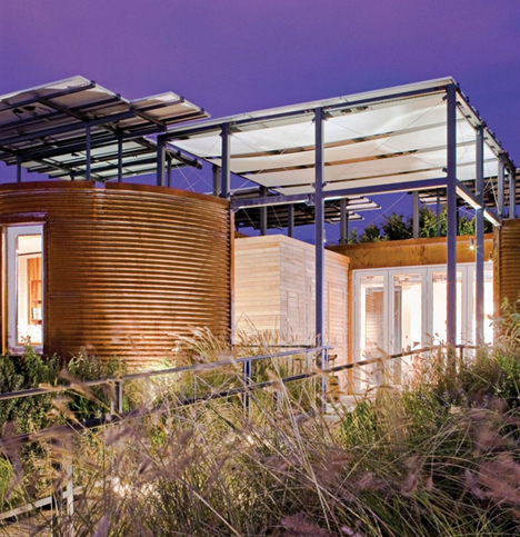 silo solar decathlon house