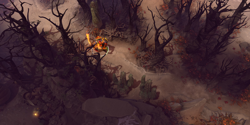 Dota 2 The Balance of Power Desert Landscape Mode 3