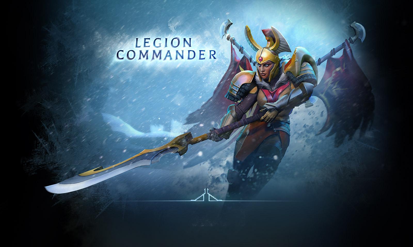 Legion Commander Wallpaper DotA2