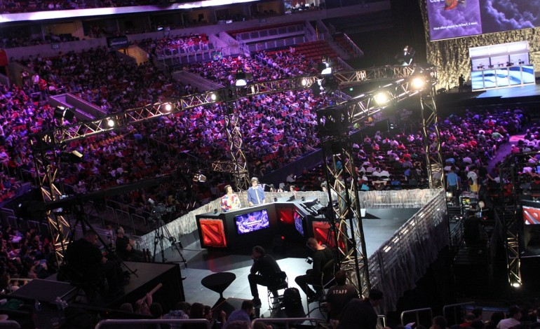 TI5 Casters Talent Host Dota Blast