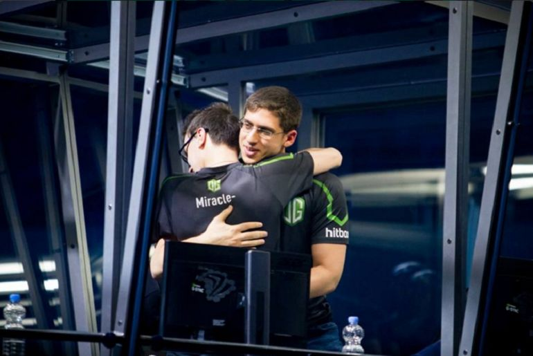 miracle and fly dota