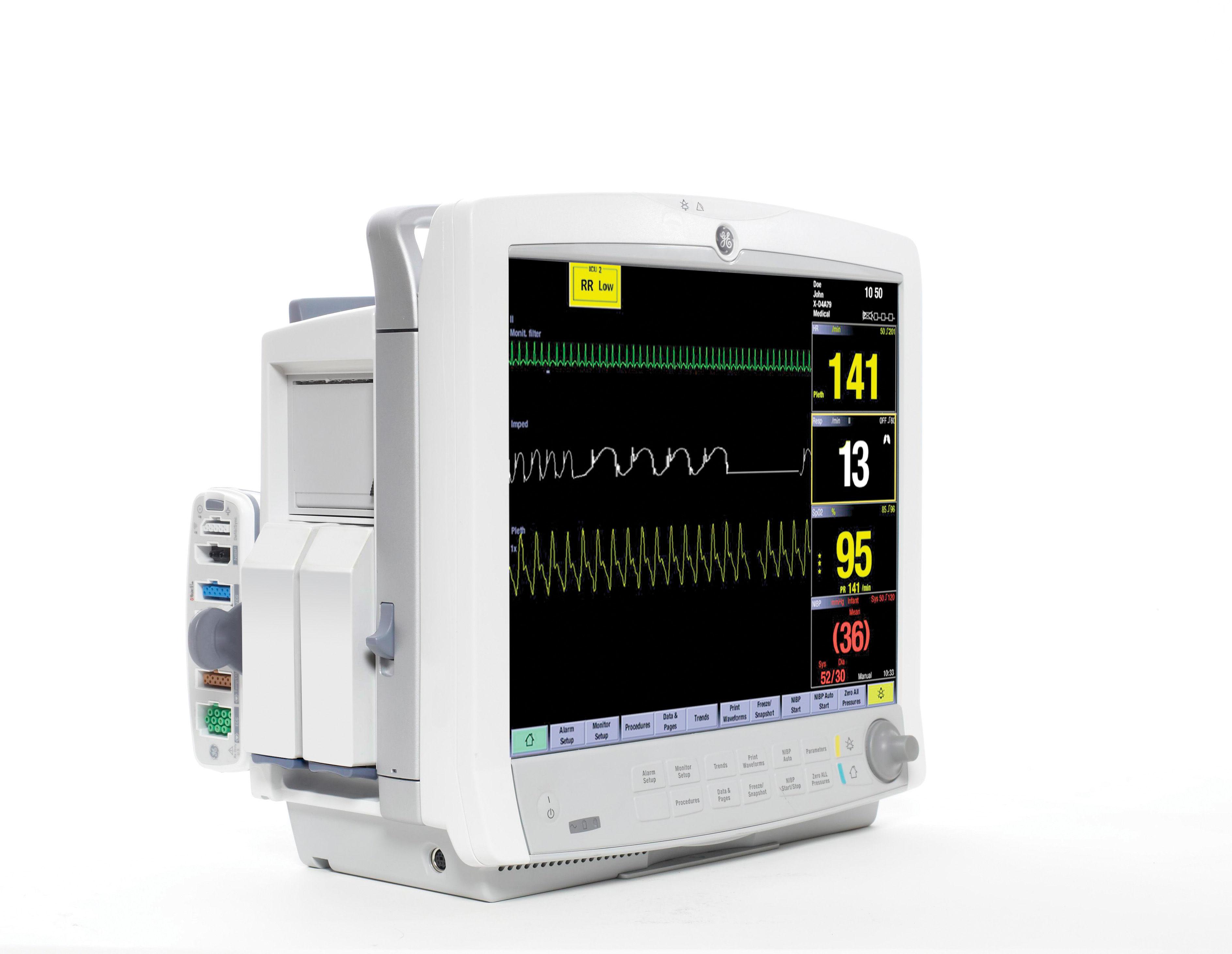 Ge Carescape B650 Bedside Monitor  Model Information