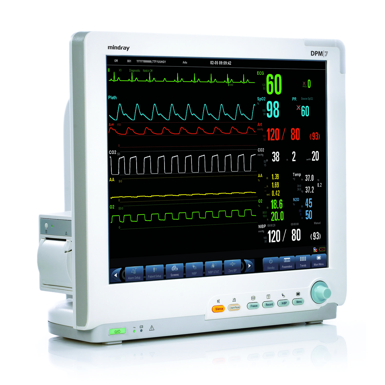 Mindray Dpm6 Bedside Monitor  Model Information