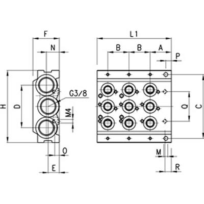 Pneumatic Manifold Valves Pneumatic Valve Drawings Wiring