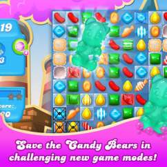 Candy Crush Sofa Down Cushion Leather Soda Saga Game Review Download And Play Free On Ios Screen 1