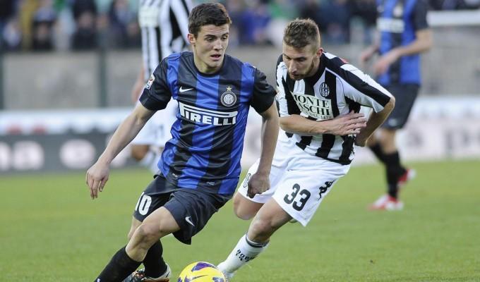 Mateo Kovacic nell'esordio in Seie A a Siena