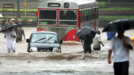 Mumbai was plunged into chaos as the city received more than 900 mm of rainfall in July 2005  (Photo: Reuters)