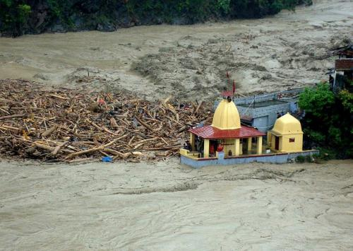 On June 16, 2013, extreme rains led to a disaster in Uttarakhand (Credit: Indian Army)