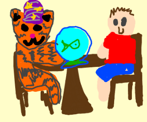 pet fortune teller drawception