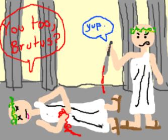 Myths About The Romans , Caesar Comic