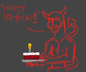 Wish Funckygarcon A Happy BirthdayHalloween Drawception
