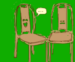 folding chair jokes cost plus covers i couldn t less nothing really mattress drawception terrible