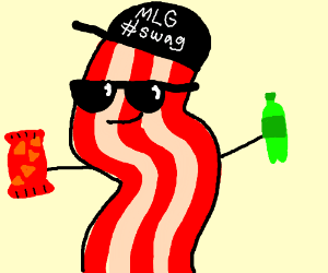 mlg bacon man drawception