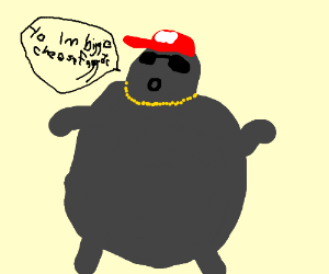 biggie cheese dropping his