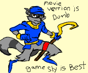sly cooper movie design