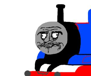 Thomas the Demon Engine  Drawception