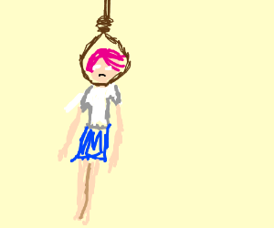 Hanging Girl Wallpaper Doki Doki Literature Club Memes Drawception