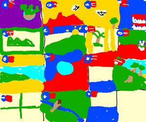 liberian county flags drawception