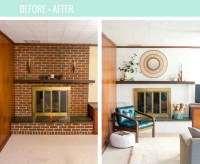 How To Properly Paint Brick Bright White - Dream Green DIY