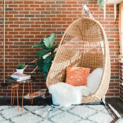 Hanging Rattan Chair Big Bean Bag Chairs For Kids How To Properly Hang A Woven Dream Green Diy Dreamgreendiy Com Ehow