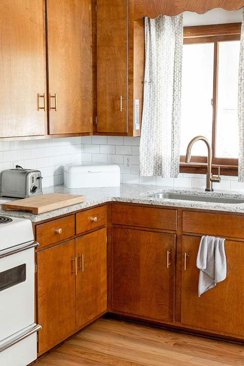 brass kitchen hardware 4 piece table set brand new in our mid century dream green diy