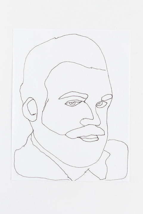 Portrait Drawing Template